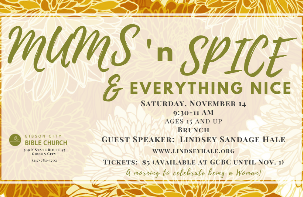 Women's Brunch - Mums and Spice and Everything Nice